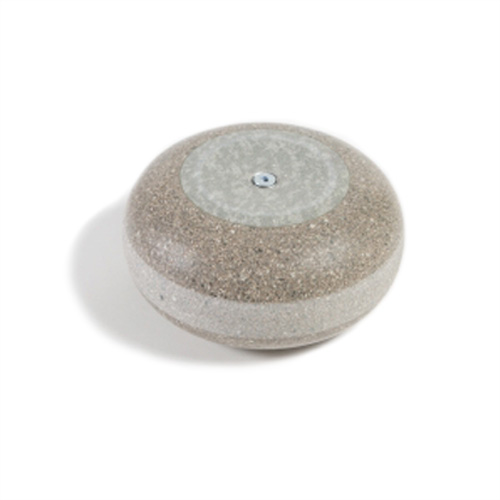New Red Trefor Granite Curling Stones With Single Blue
