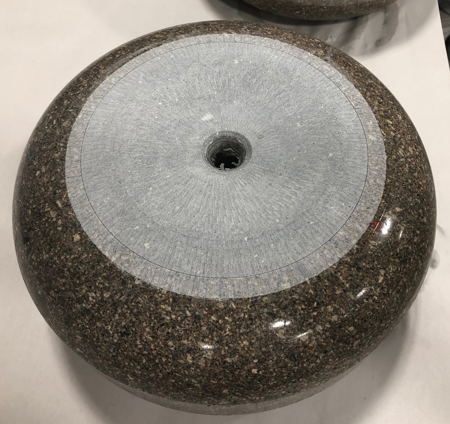 Recondition One Side Of Club S Existing Curling Stones